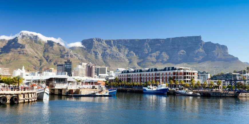 Table mountain og Waterfront